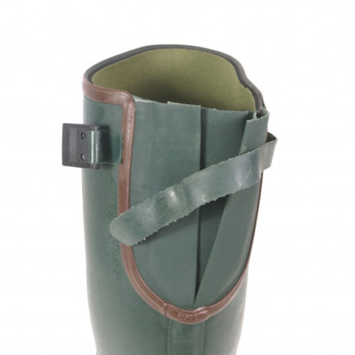 Viking Rubber Boot with gusset for wider calves