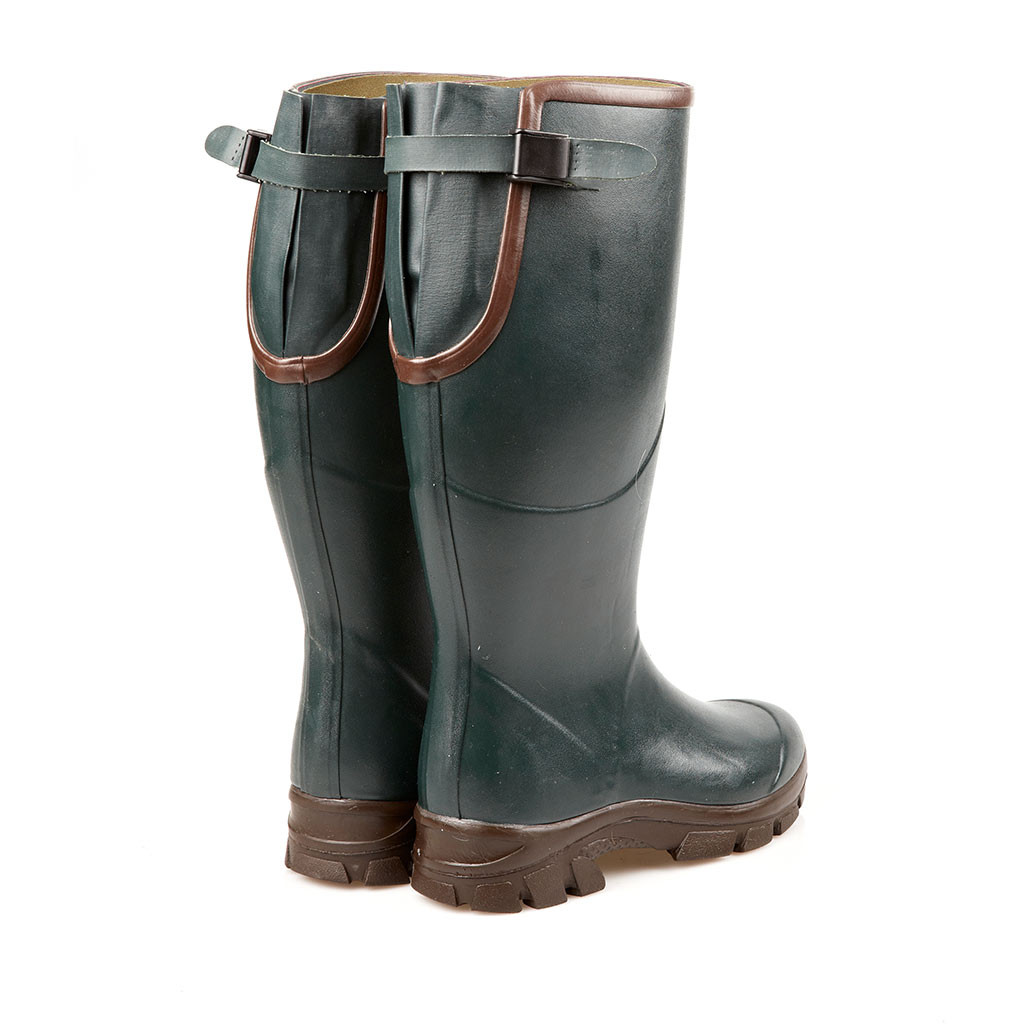 Wingshooting Boots with Gusset in Green, Hunting Boots