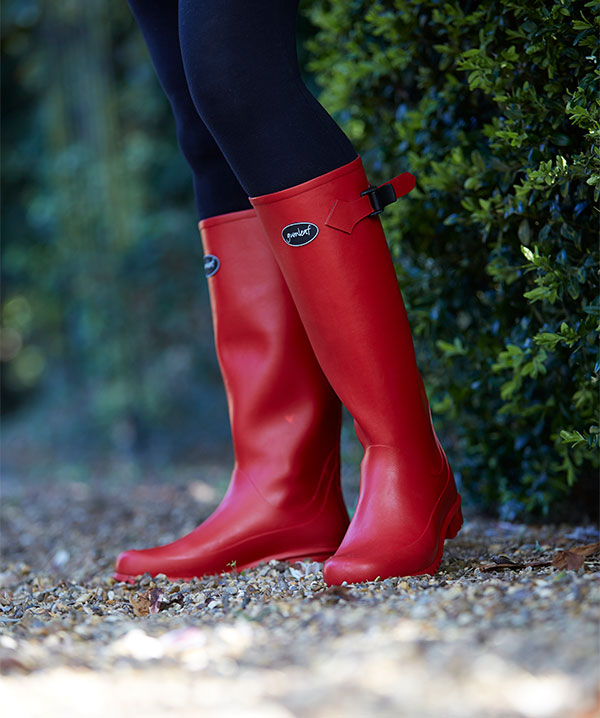 Iceni-Rubber-Boot-for-Women-in-Red