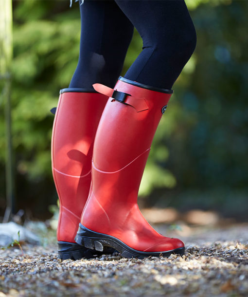 Norse-Boot-for-Women-in-Red