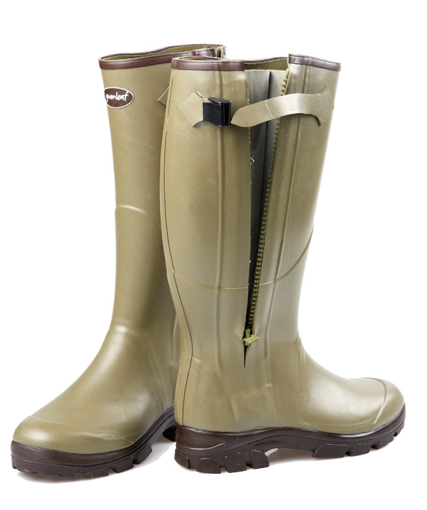 Royal Zip Rubber Boot