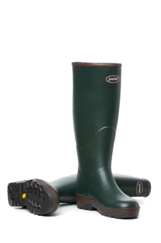 Womens Field Boot Zips in Green