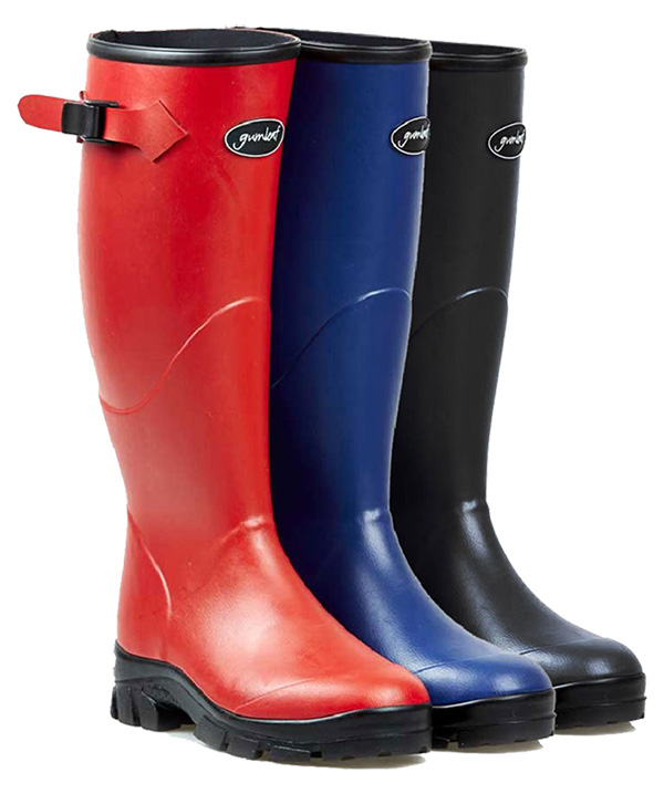 Womens-Norse-Boot-in-Red-Blue-and-Black