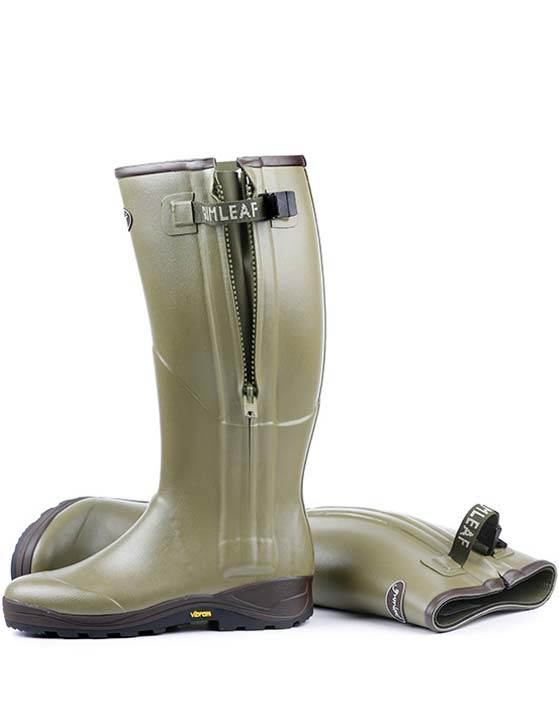 Upland Hunting Boots with Zipper